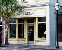 Haute Design on King Street, Charleston, SC Royalty Free Stock Photography