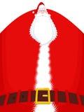 Haute et ceinture de Santa Claus Grand-père énorme de Noël énorme illustration libre de droits