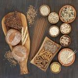 Haute nourriture biologique de fibre images libres de droits
