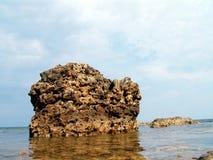 Haute pierre Photos stock