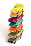 Haute pile des véhicules Photographie stock libre de droits