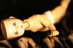 Haute poupée principale Images libres de droits