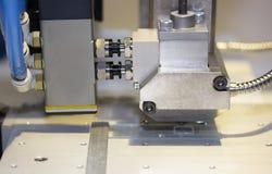 Haute précision et technologie de dispositif de bec et d'aiguille d'injection automatique de colle de machine de distributeur de  photo stock