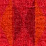 Texture de tissu de serviette - rose, rouge et orange Photos libres de droits