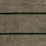 Texture de tissu de coton - grise/vert avec les rayures vert-foncé Image stock