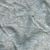 Texture de tissu de coton - gris Photo libre de droits