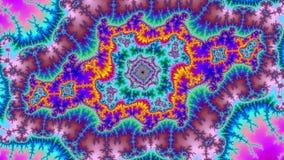 Haute résolution colorée de fractale de fond d'abrégé sur univers de Digital images stock