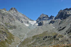 The Haute Route Stock Images
