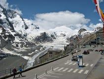 Haute route alpestre Image libre de droits