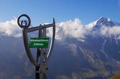 Haute route alpestre de Grossglockner Images stock