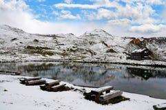 Haute route alpine de Grossglockner Photo stock