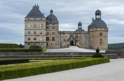 Hautefor城堡  库存照片