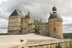 Hautefort castle Stock Images