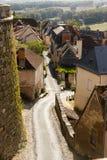 Hautefort Dordoña Francia Imagen de archivo libre de regalías