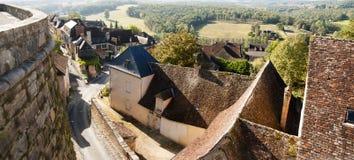 Hautefort Dordogne France royalty free stock image