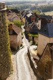 Hautefort Dordogne Frankrijk Royalty-vrije Stock Afbeelding