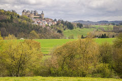 Hautefort, France Royalty Free Stock Images