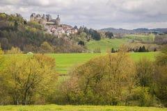 Hautefort, Francia imágenes de archivo libres de regalías