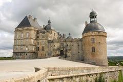 Hautefort-Schloss Stockbilder