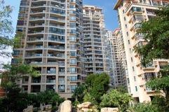 Hautes constructions résidentielles Images stock
