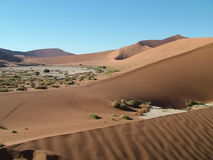 Hautes dunes Photographie stock libre de droits
