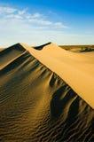 Hautes dunes, Patagonia, Argentine. Image libre de droits