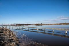 Hautes eaux de printemps photos stock