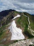 Hautes montagnes Images libres de droits