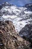 Hautes montagnes d'atlas Photographie stock