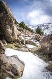 Hautes montagnes d'atlas Images libres de droits