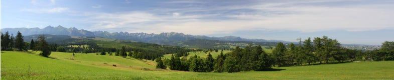 Hautes montagnes de Tatra photographie stock libre de droits