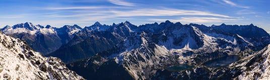 Hautes montagnes de Tatra Images stock