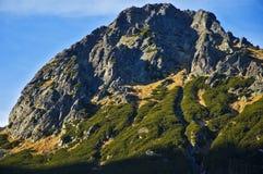 Hautes montagnes de Tatras Photographie stock libre de droits