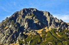 Hautes montagnes de Tatras Photos libres de droits