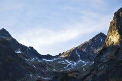 Hautes montagnes de Tatras Photo libre de droits