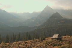 Hautes montagnes de Tatras, Pologne Photos stock