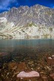 Hautes montagnes de tatras, Slovaquie Photographie stock libre de droits
