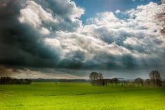 Hautes plaines du Lincolnshire Photographie stock