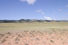 Hautes plaines entre le Colorado et le Wyoming Images libres de droits