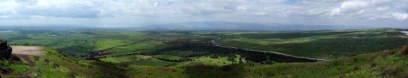 Hauteurs du Golan Photos libres de droits
