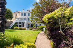 Hauteville-Haus im Heiligen Peter Port, Guernsey, Kanal-Inseln, Großbritannien Lizenzfreie Stockfotografie