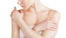 Hautpflege stockbild