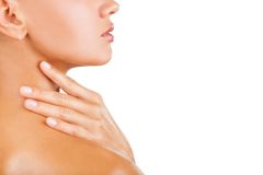 Hautpflege lizenzfreie stockbilder