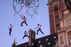 Hauts acrobates d'air Photo libre de droits