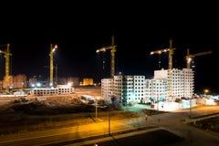 Hauts bâtiments en construction Photographie stock libre de droits
