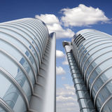 Hauts gratte-ciel modernes photos libres de droits