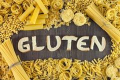 Hauts niveaux de gluten image libre de droits
