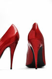 Hauts talons rouges Photos stock