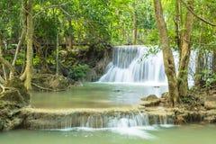 Hauy Mea Kamin waterfall, Located Kanchaburi Province Stock Photography