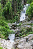 Hauykeaw waterfall in Doi Suthep-Pui Nationnal Park , chaingmai Stock Image